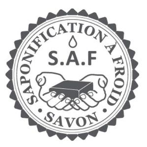 label-saf-saponification-à-froid-bio-naturel-la-savonniere-oleron