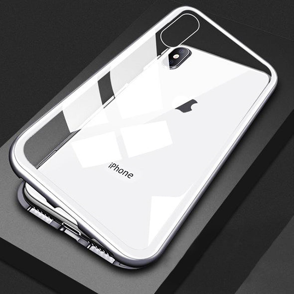 Flancerie™ - Luxury Magnetic Adsorption Metal Case for iPhone