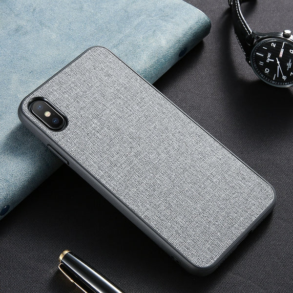 Luxury Cloth iPhone Case