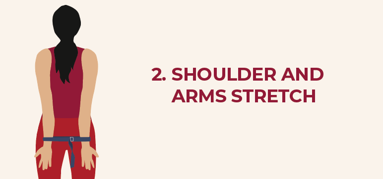 Should stretch with the yoga belt