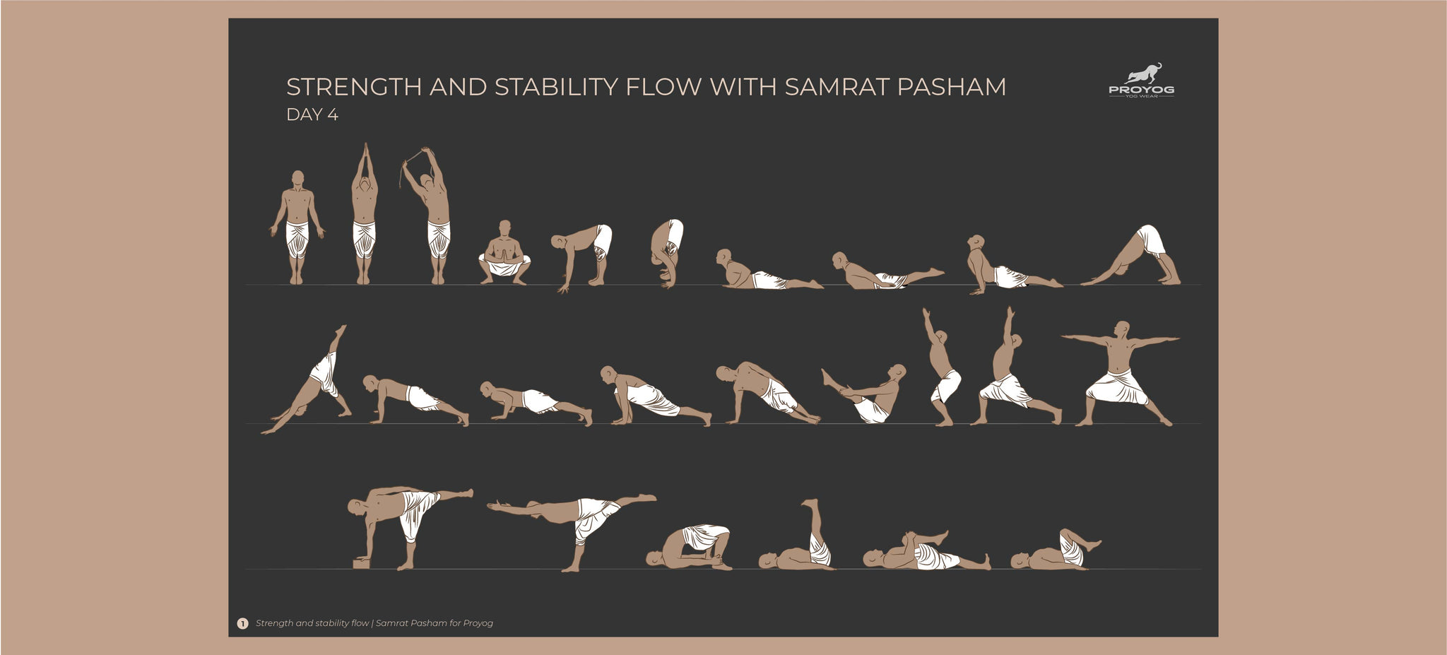 Yoga sequence for strength and stability