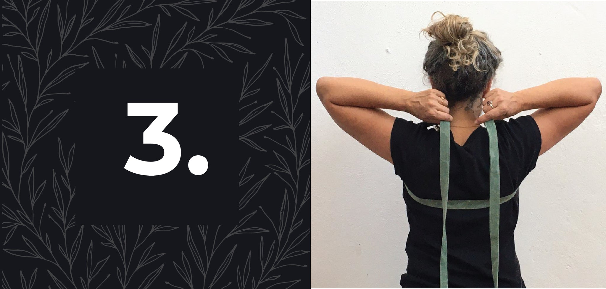 How to use a yoga strap to relieve shoulder stress