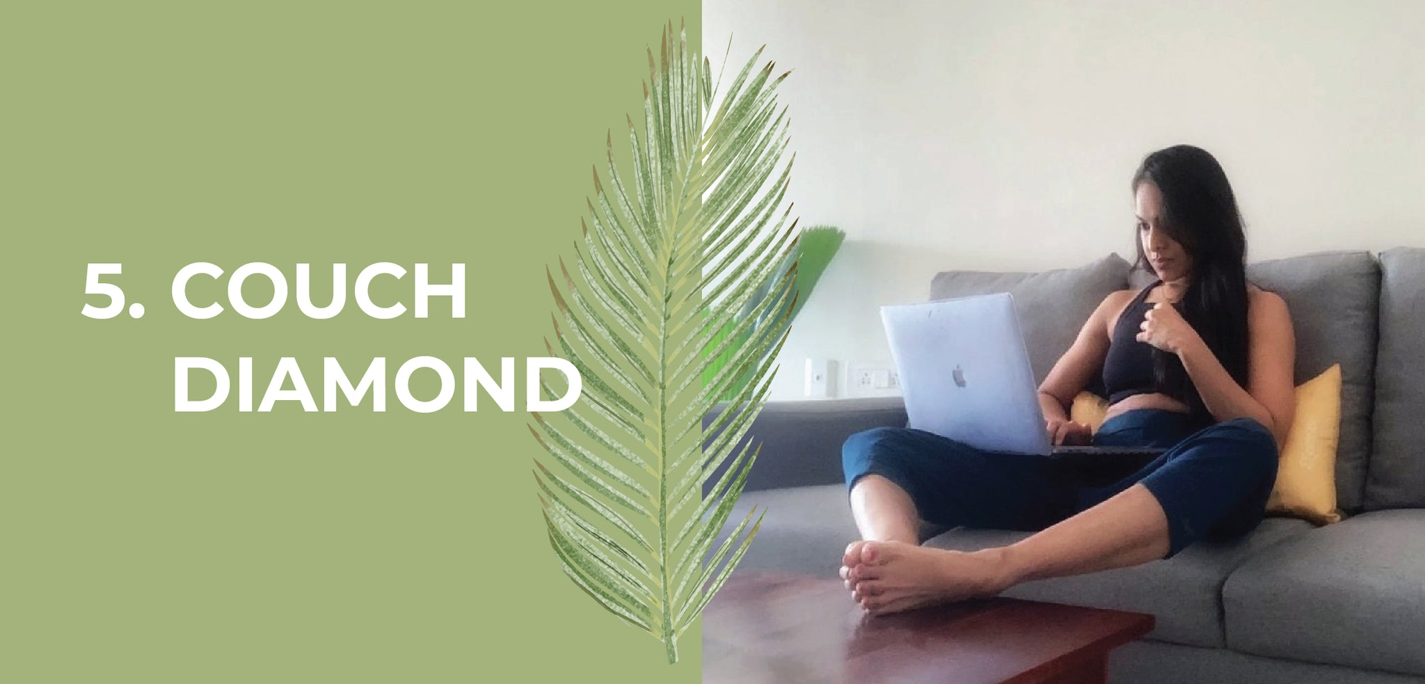 WFH yoga stretch by Chanchal Jaising