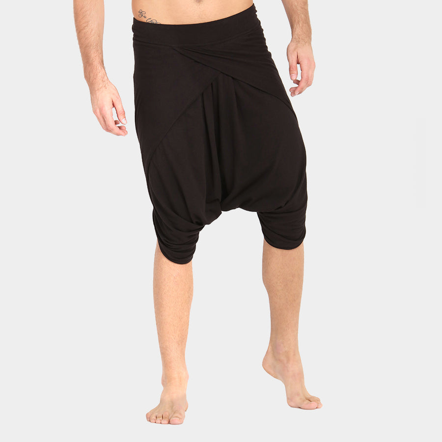 Men's Dhoti Shorts: Chandra 2.0