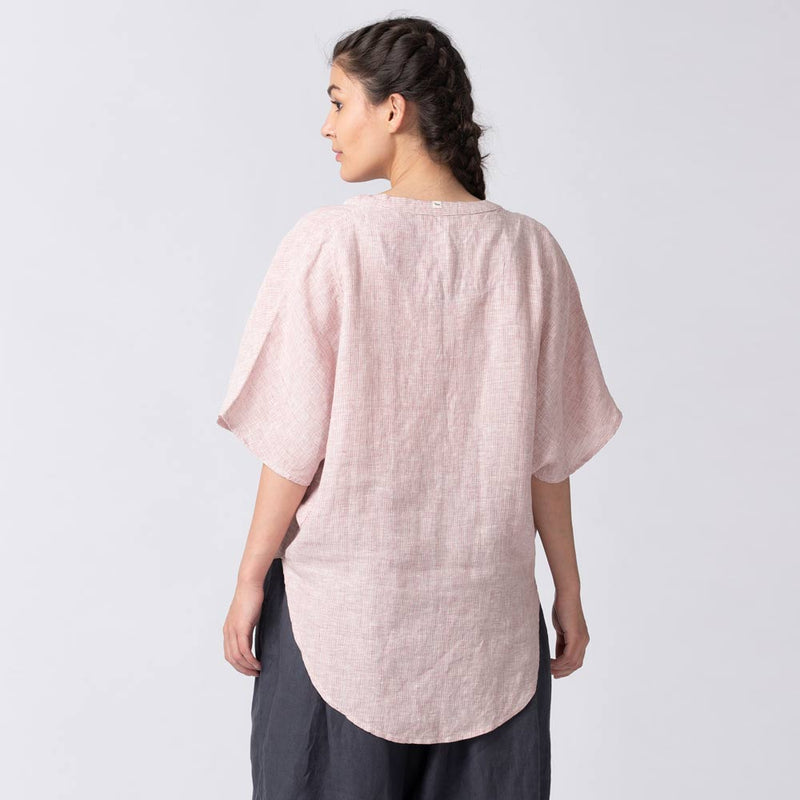 Loose Kimono Top with Pockets