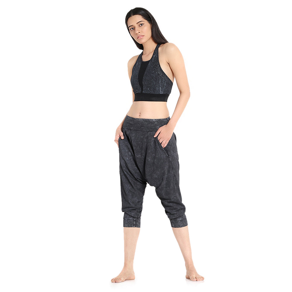 Yoga Dhoti Pants: Vira Washed