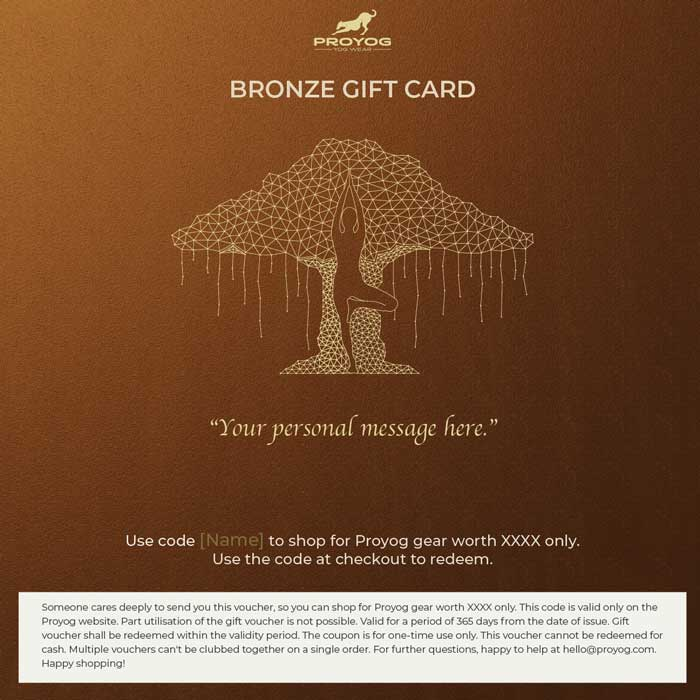Proyog Bronze Gift Card