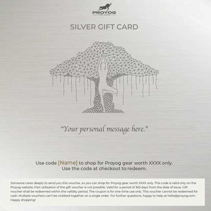 Proyog Silver Gift Card
