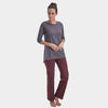Proyog yoga tunic cotton modal forged iron full
