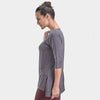 Proyog yoga tunic cotton modal forged iron side