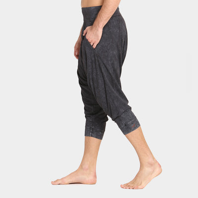 Men's Vira Yoga Dhoti washed side