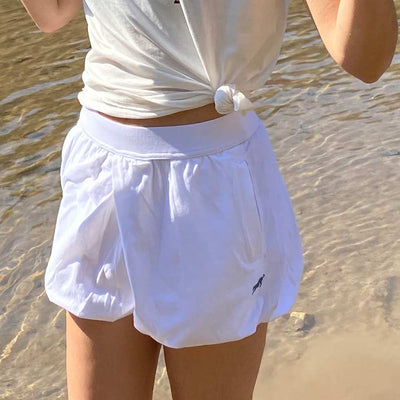 Padma Shorts: White