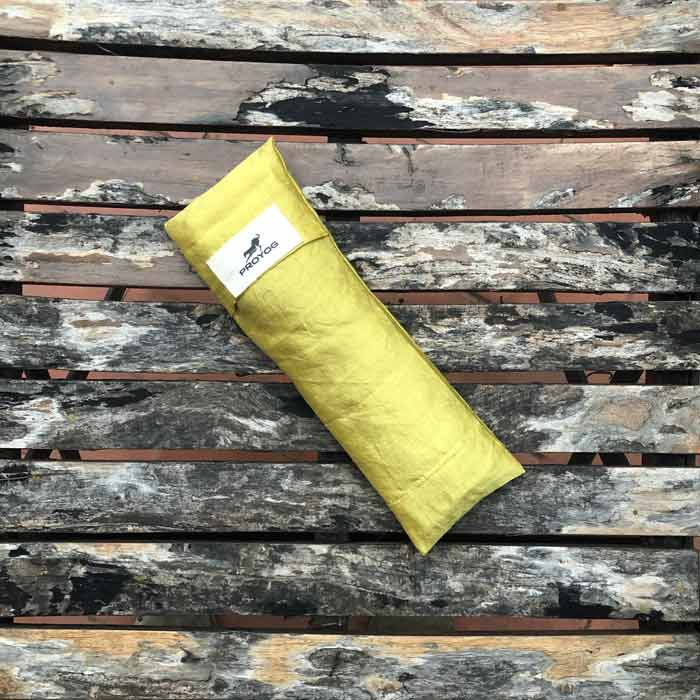 Yellow-Eye-Pillow-Open