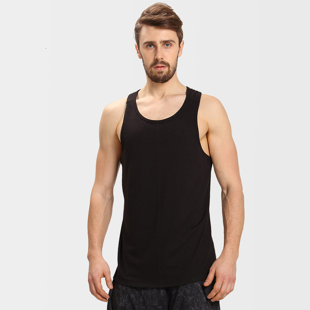 Proyog black men's vest front