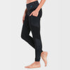 Dhanur Yoga Tights: India Ink Black