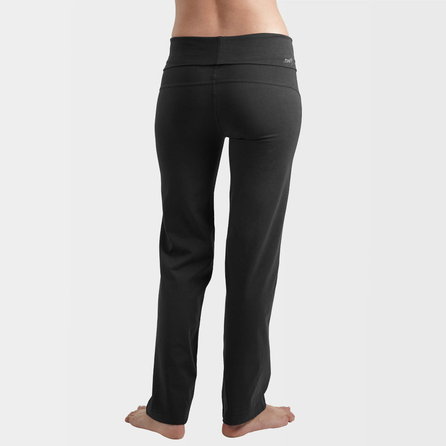 "Yoga Pants: Vriksh India Ink Black, 29"" Inseam"