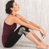 Yoga Tights black organic cotton Proyog look