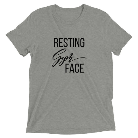 Resting Gym Face Short sleeve t-shirt