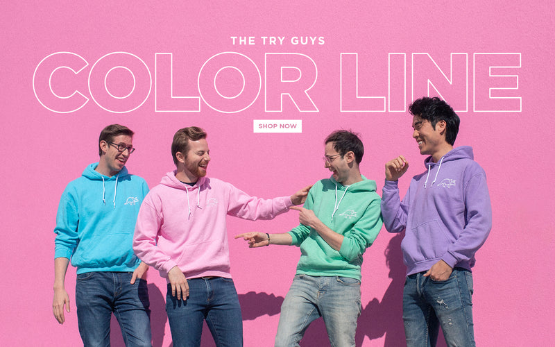 The Official Try Guys Merchandise – The Try Guys