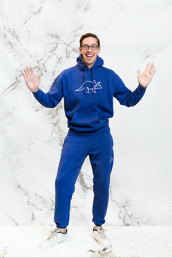 Try Guys: Royal Blue Sweatpants