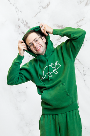 Try Guys: Royal Green Hoodie