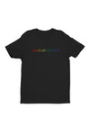 Black Dino Rainbow Shirt