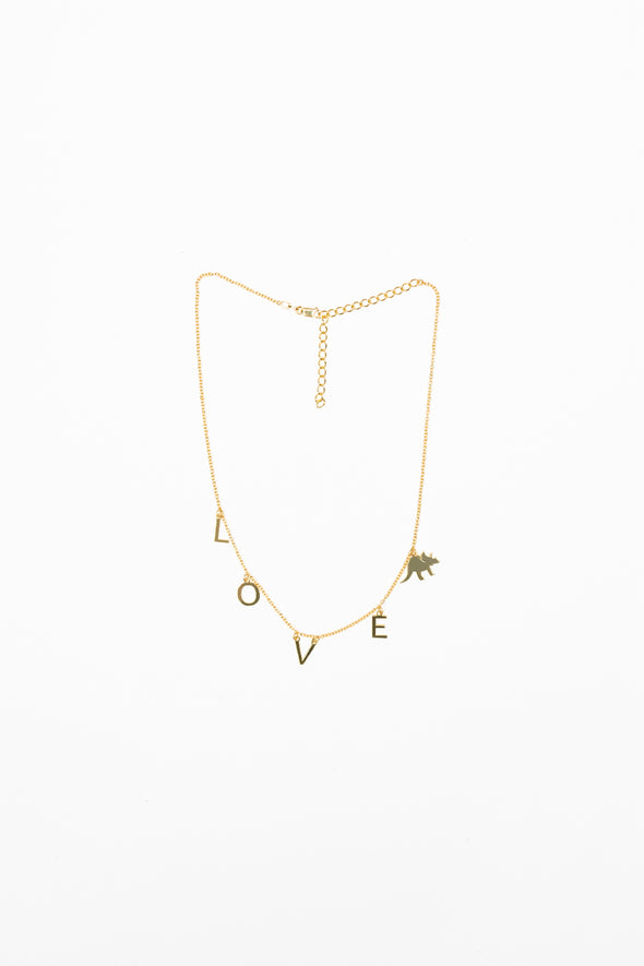 Try Guys: 'Love' Gold Necklace