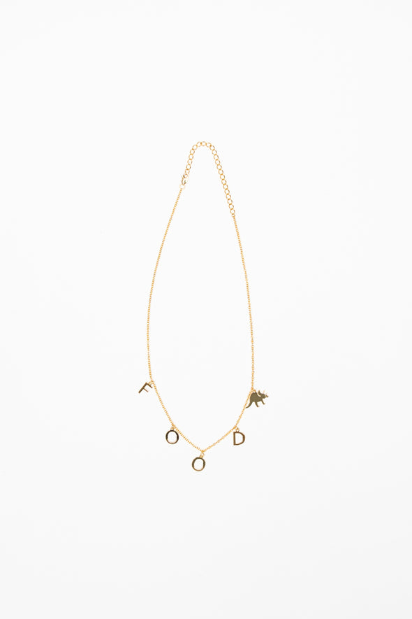 Try Guys: 'Food' Gold Necklace