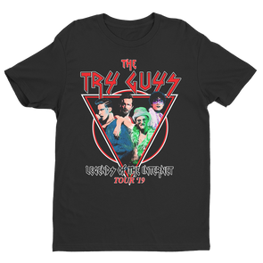 Limited Edition Try Guys Tour Band Tee
