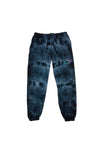 Try Guys: Cloud Black Acid Wash Tie Dye Sweatpants