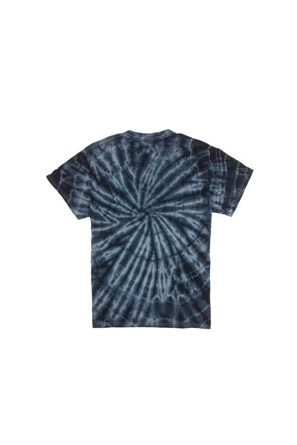 Try Guys: Spiral Black Acid Wash Tie Dye Shirt
