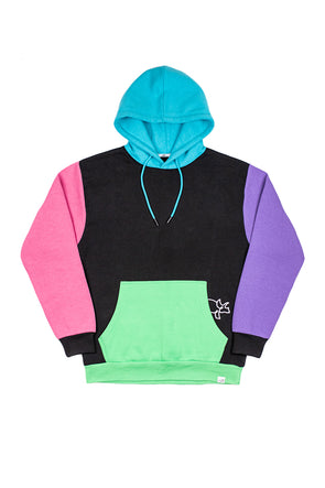 Color Block Super Suit Hoodie