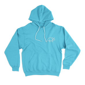 The Blue Color Hoodie