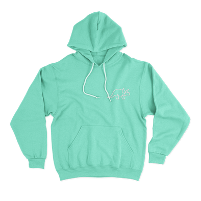 The Green Color Hoodie