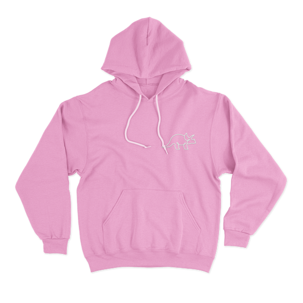 The Pink Color Hoodie