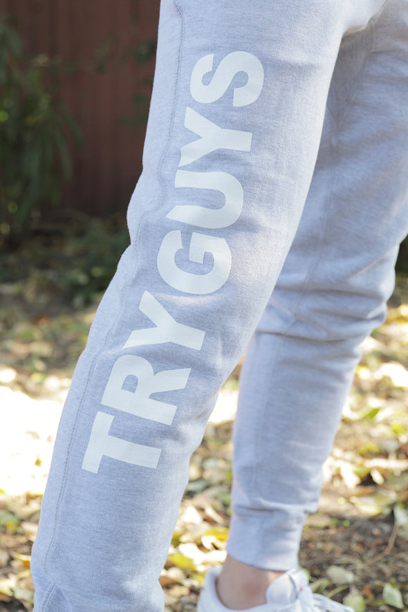 Try Guys: 'Classics' Heather Grey Joggers