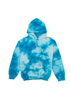Try Guys: Cloud Blue Tie Dye Hoodie