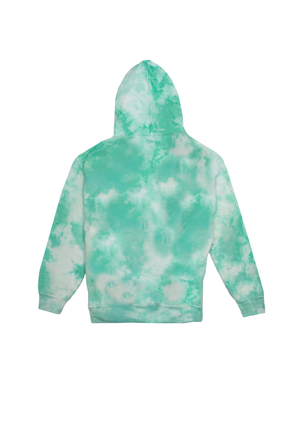 Try Guys: Cloud Green Tie Dye Hoodie