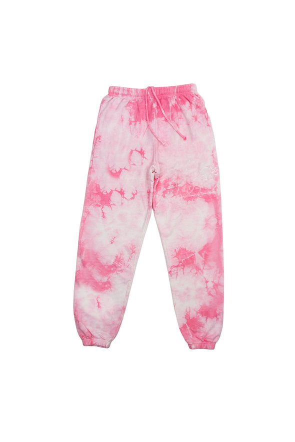 Try Guys: Cloud Pink Tie Dye Sweatpants