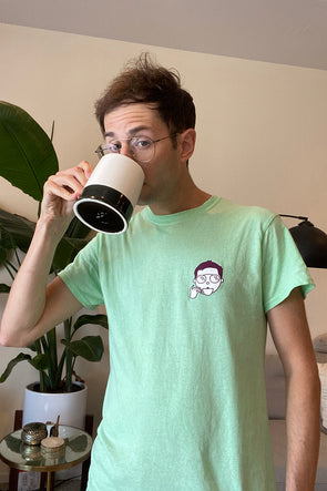 Zadiko Tea: 'Zadiko' Mint Green Shirt