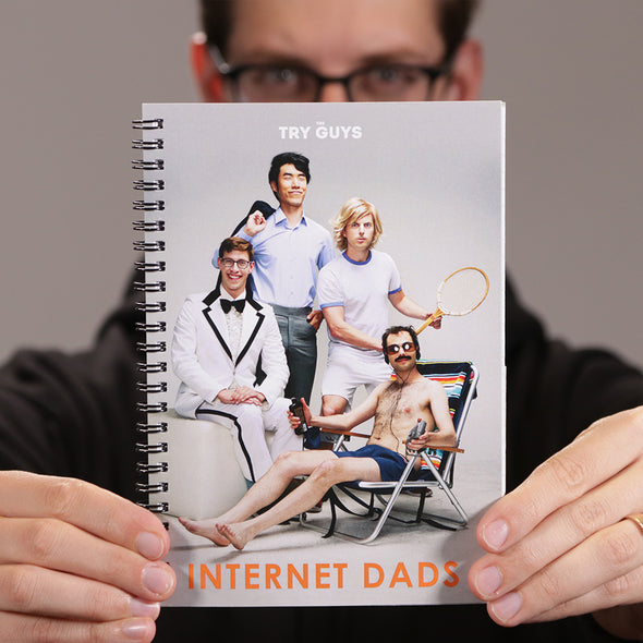#1 Internet Dads Notebook