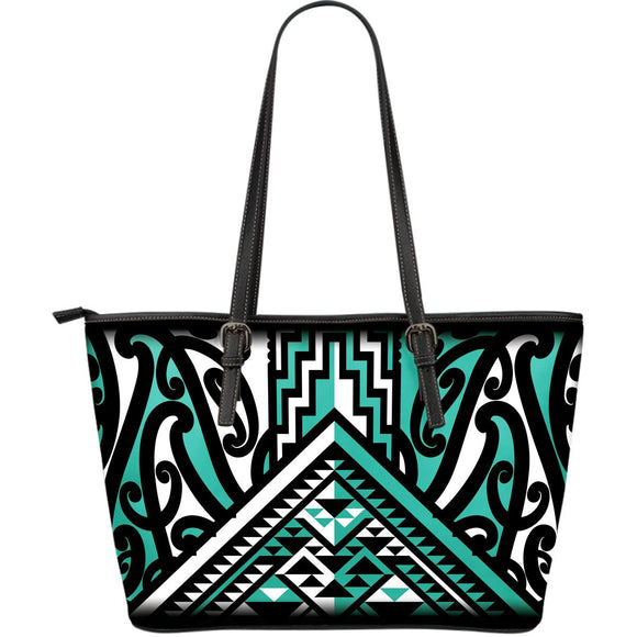 Taniko Shoulder Bag - Karikiorangi (Turquoise)