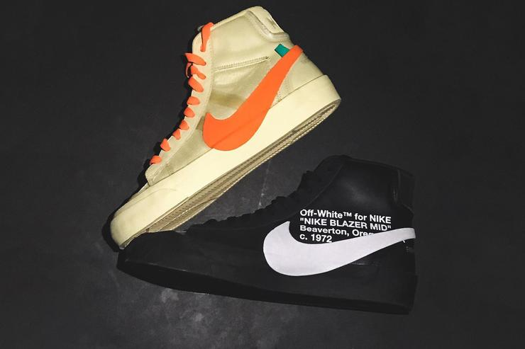 Off-White x Nike Blazer 'Grim Reapers' & 'All Hollows Eve'