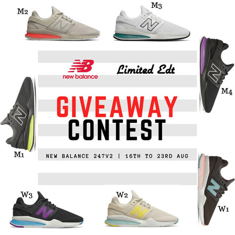 Limited Edt and New Balance 247v2 Giveaway