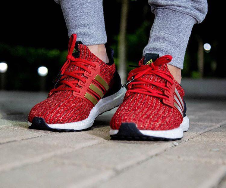 Game of Thrones x Adidas Ultra Boost 'House Lannister'