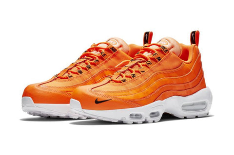 Nike Air Max 95 Premium 'Total Orange' & 'Black/White'