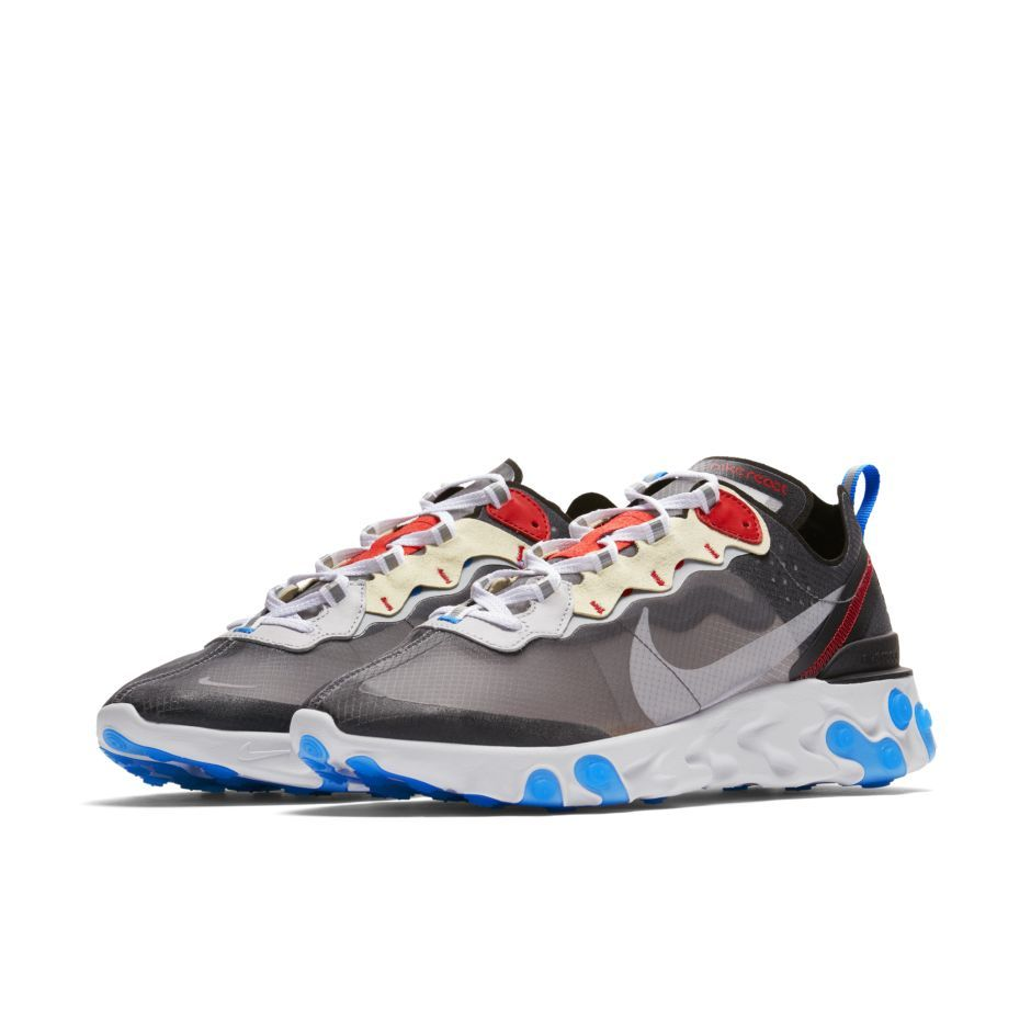 1ebaee3082a2 Singapore Release  Nike React Element 87  Dark Grey     Desert Sand  -  Sneakest