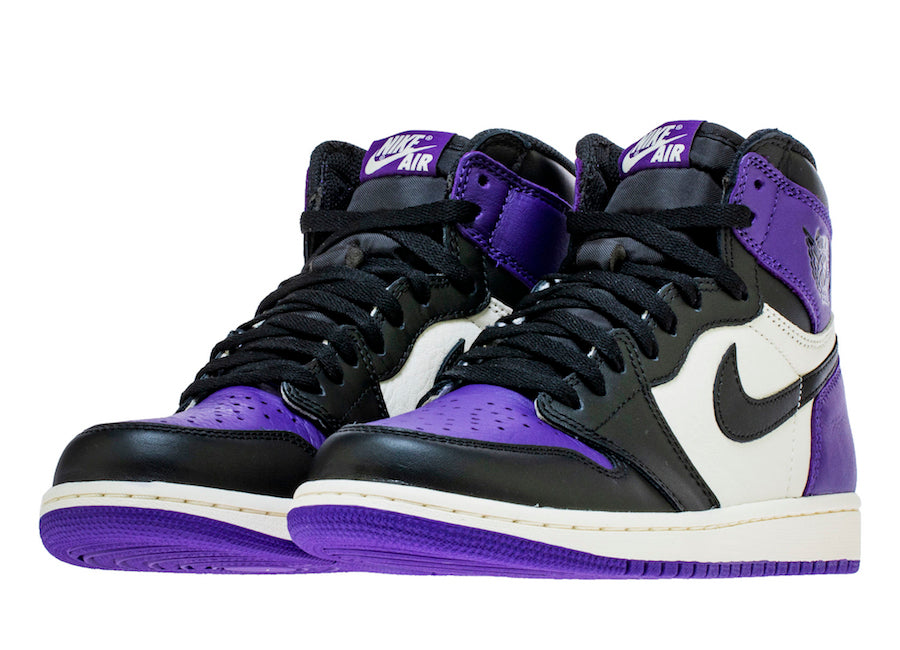 eb2f8aa809996 Singapore Release  Air Jordan 1 Retro High OG  Court Purple  - Sneakest