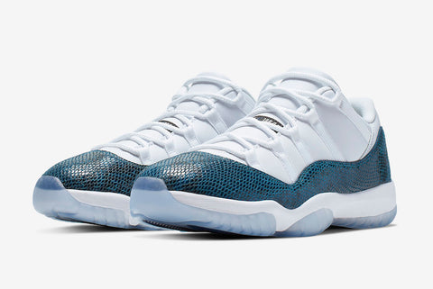 Air Jordan 11 Low Retro 'Navy Snakeskin'