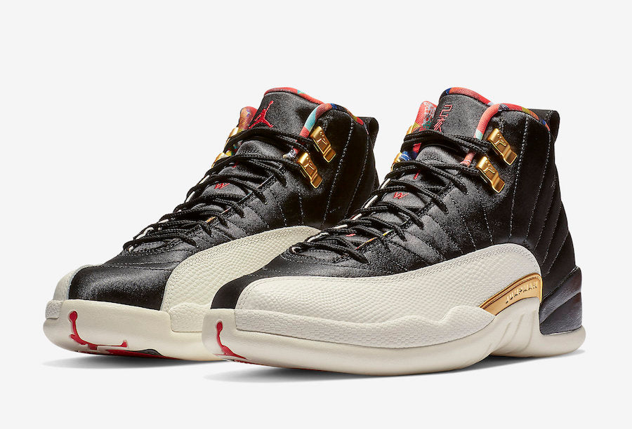 Release Date  Air Jordan 12 Retro  Chinese New Year  - Sneakest aa2fcdf57